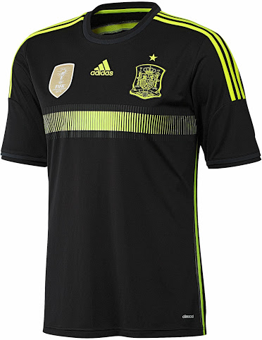 Spain 2014 World Cup Away Kit