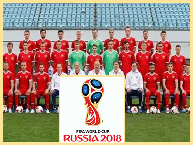 Футбольная команда и Fifa world cup Russia 2018