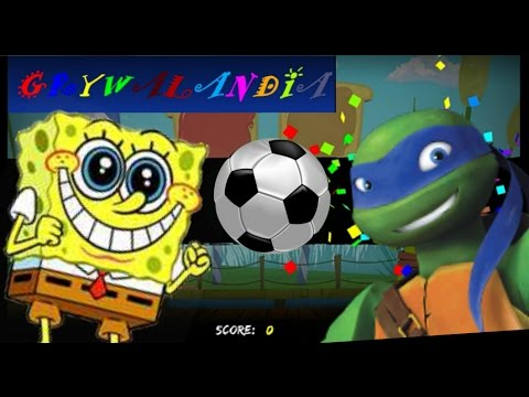 SpongeBob - football match - Nick Soccer Stars Game