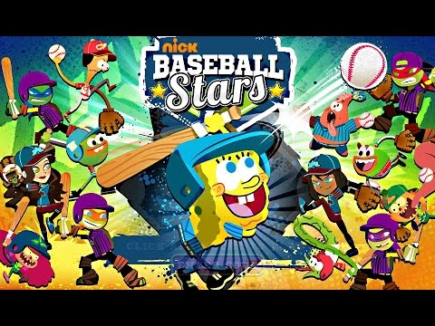 Nick Baseball Stars - Nickelodeon Games - Full Game Episode For Kids