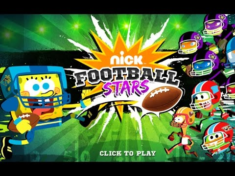 Губка Боб Американский Футбол (Nickelodeon Football Stars)