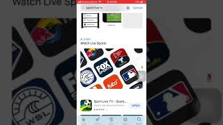 how to make live football match for iPhone